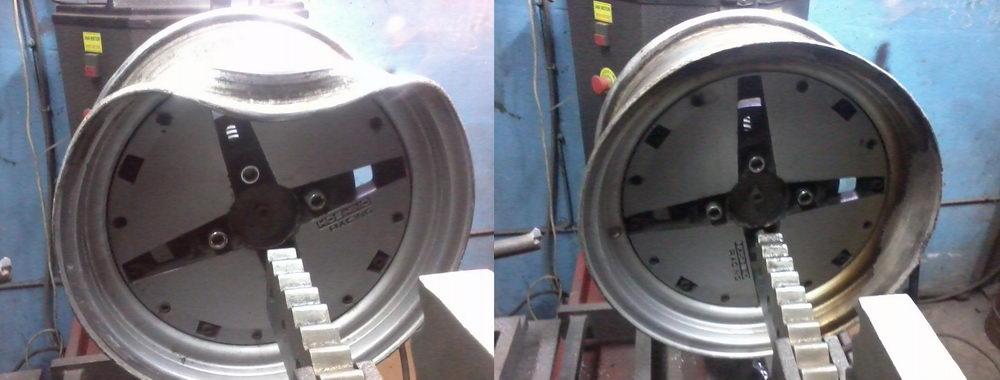 Реставрация колесных дисков своими руками